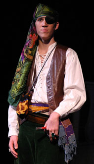 Antonio the pirate, from Twelfth Night